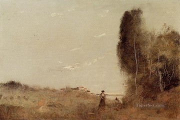Morning by the Water Jean Baptiste Camille Corot Oil Paintings