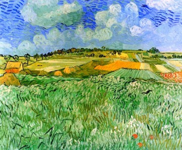 plain Art - Plain near Auvers Vincent van Gogh scenery