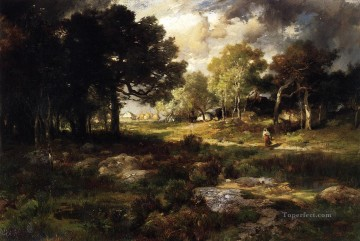 Romantic Landscape Thomas Moran Oil Paintings