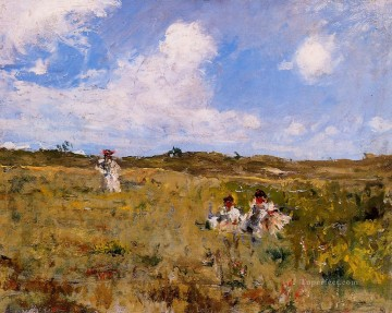 Shinnecock Landscape2 impressionism William Merritt Chase Oil Paintings