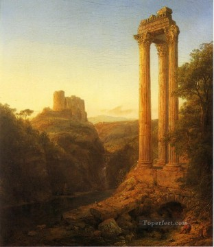 Sunrise in Syria scenery Hudson River Frederic Edwin Church Oil Paintings
