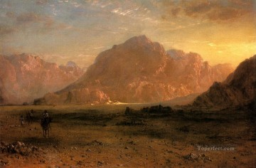 Arab Canvas - The Arabian Desert scenery Hudson River Frederic Edwin Church