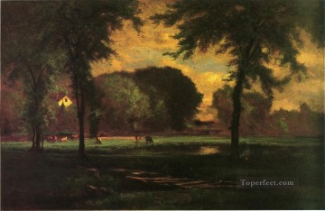 The Pasture landscape Tonalist George Inness Oil Paintings