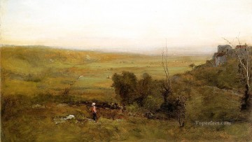 The Valley landscape Tonalist George Inness Oil Paintings