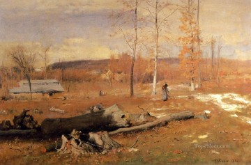 Winter Morning Montclair landscape Tonalist George Inness Oil Paintings