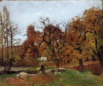 autumn landscape near pontoise Camille Pissarro Oil Paintings