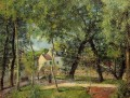 landscape at osny near watering 1883 Camille Pissarro