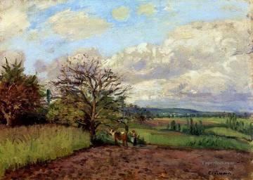 landscape with a cowherd Camille Pissarro Oil Paintings