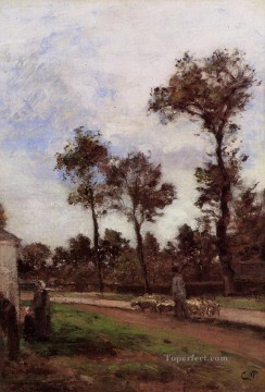louviciennes Camille Pissarro scenery Oil Paintings
