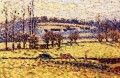 meadow at bazincourt Camille Pissarro scenery