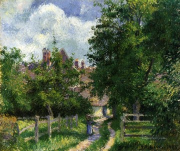 neaufles sant martin near gisors 1885 Camille Pissarro scenery Oil Paintings