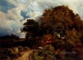 the Road Across The Common landscape Sidney Richard Percy