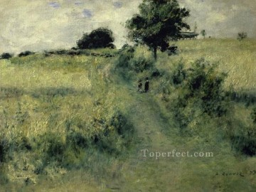 Pierre Works - the meadow Pierre Auguste Renoir scenery