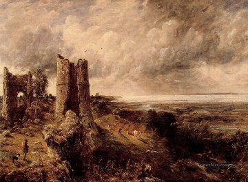 Hadleigh Castle Romantic landscape John Constable Oil Paintings