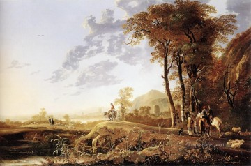 Evening countryside scenery Aelbert Cuyp Oil Paintings