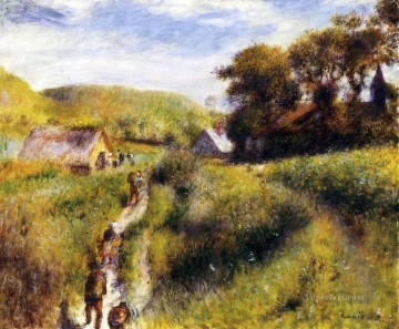 Pierre Works - the vintagers Pierre Auguste Renoir scenery