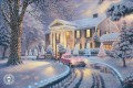 Graceland Christmas Thomas Kinkade snowing