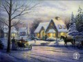 Memories of Christmas Thomas Kinkade winter