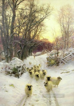 The Sun Had Closed The Winter Day Oil Paintings