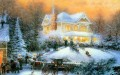 Victorian Christmas II Thomas Kinkade winter