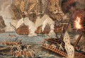 Combat naval 12 avril 1782 Dumoulin Naval Battle