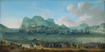 Dutch victory in the battle of Gibraltar Adam Willaerts 1617 Naval Battle Oil Paintings