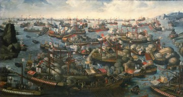 battle of lepanto 1571 Oil Paintings