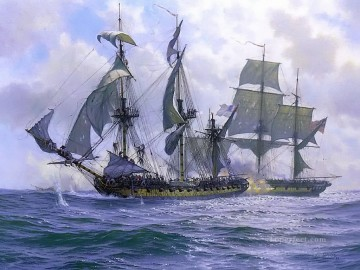 frigates and sailing ships Oil Paintings