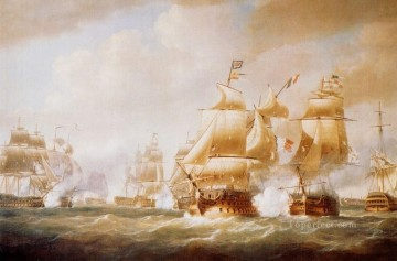 Naval Canvas - Duckworth s Action off San Domingo 6 February 1806 Naval Battle