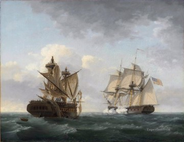 Doni Art - Thomas Birch Engagement between the United States and the Macedonian Naval Battle