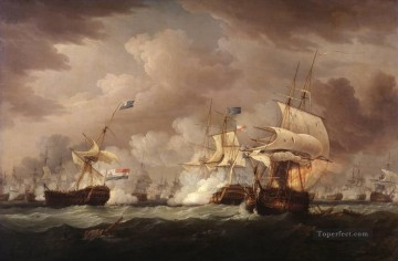 the naval war warships Oil Paintings