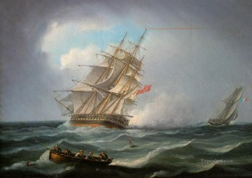 warship Oil Paintings