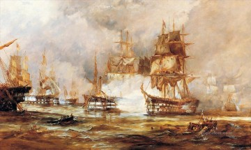 Warship Painting - battle ships