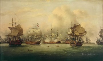 sea battle 5 Oil Paintings