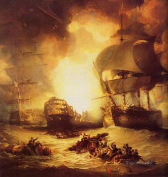 Warship Painting - Aboukir Naval Battles