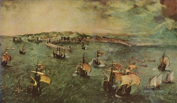 Artworks in 150 Subjects Painting - Pieter Bruegel d Ä 031 war ships