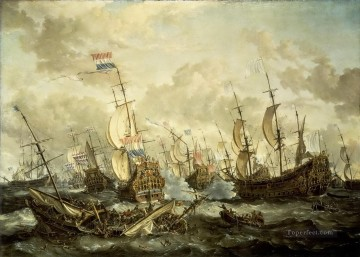 Naval Canvas - naval battle classical