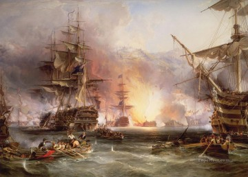 sea battle 4 Oil Paintings