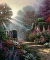 Garden of Grace Thomas Kinkade woods forest