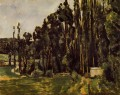 Poplars Paul Cezanne woods forest
