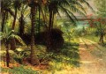 Tropical Landscape Albert Bierstadt woods forest