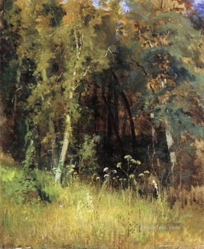 1874 Works - covert 1874 classical landscape Ivan Ivanovich forest