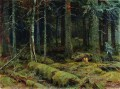 dark forest 1890 classical landscape Ivan Ivanovich trees