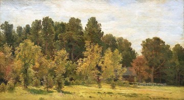 forest edges classical landscape Ivan Ivanovich trees Oil Paintings