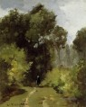 in the woods 1864 Camille Pissarro