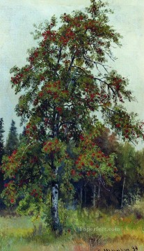 rowan 1892 classical landscape Ivan Ivanovich trees Oil Paintings