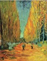 Alychamps Vincent van Gogh woods forest