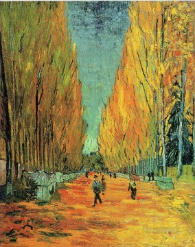 Woods Painting - Alychamps Vincent van Gogh woods forest