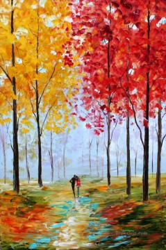 Woods Painting - Autumn Melody woods forest