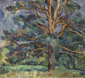 PINES Petr Petrovich Konchalovsky woods trees landscape Oil Paintings